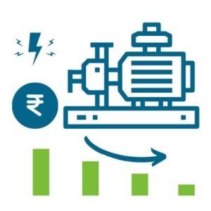 Reduce electricity pump