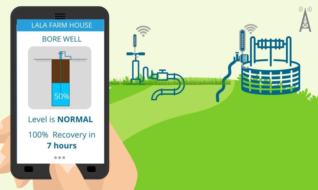 Borewell Water Level Sensor