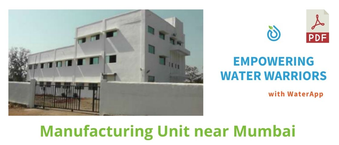 Manufacturing Unit Case Study - WaterApp