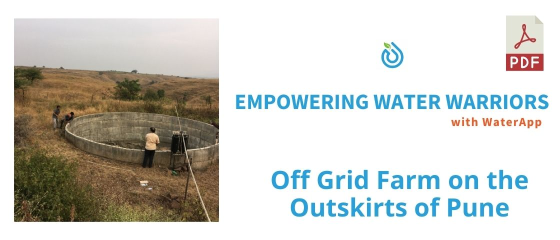 Off Grid Farm close to Pune
